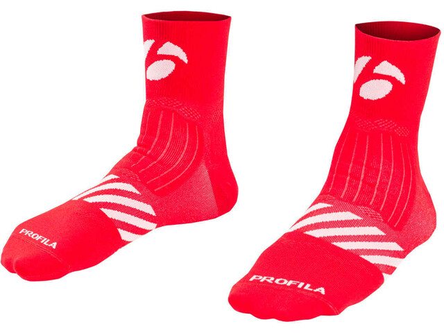 "Bontrager Velocis 2 1/2"" Calcetines, red"